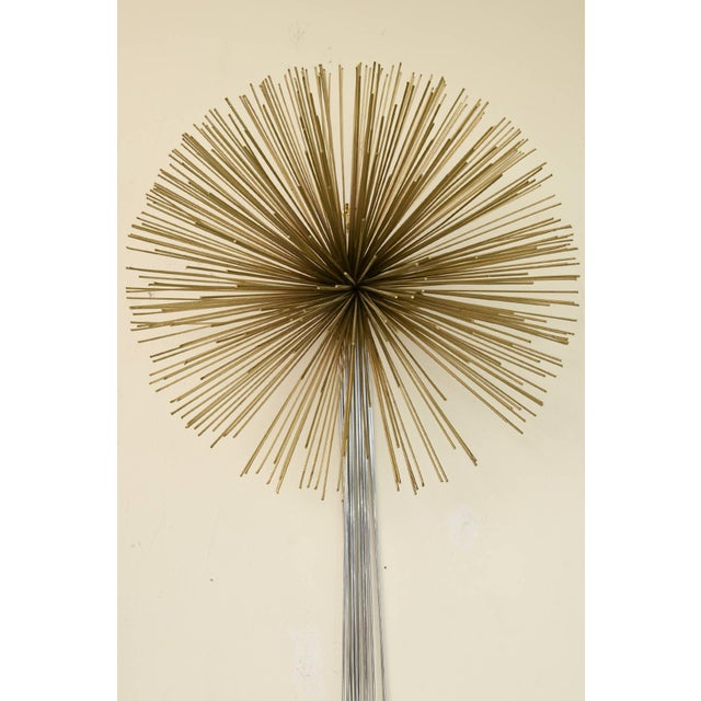 1970s Curtis Jere Mixed Metals Pom Pom/Starburst Hanging Sculpture For Sale - Image 5 of 9