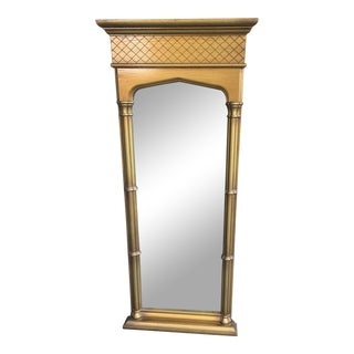 1970s Hollywood Regency Moroccan Style Gilt Mirror For Sale