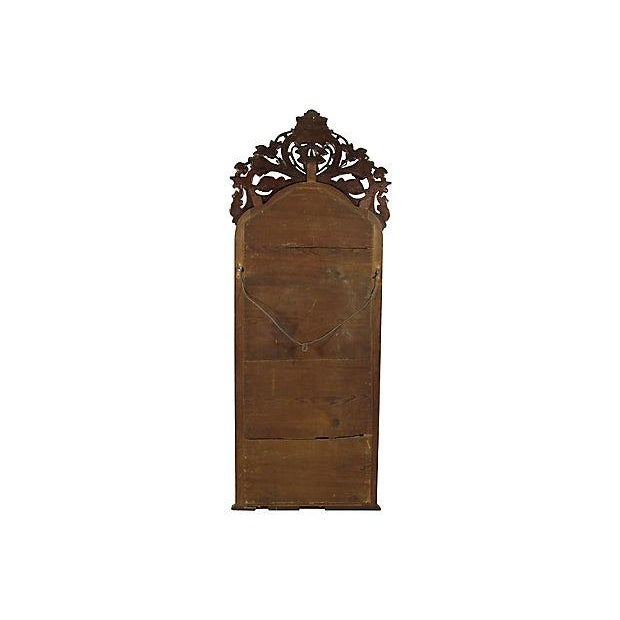 19th-C. Colonial Pier Mirror For Sale - Image 5 of 5