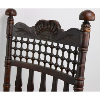 19th Century Oak Rocking Chair Attributed to Merklen Brothers Preview