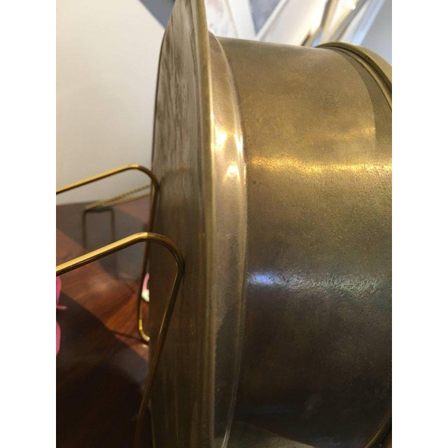 Brass Ship's Clock by Viking, Circa 1960s For Sale In Nantucket - Image 6 of 8