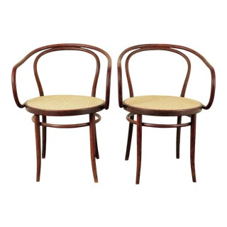 Vintage Ligna 209 B9 Bentwood Chairs - a Pair For Sale