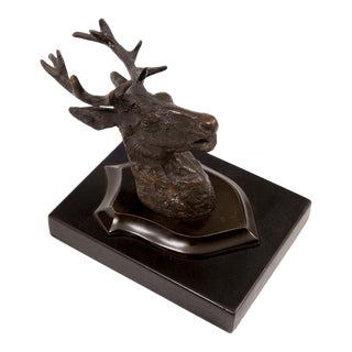 1990s Deer Wall Mount For Sale