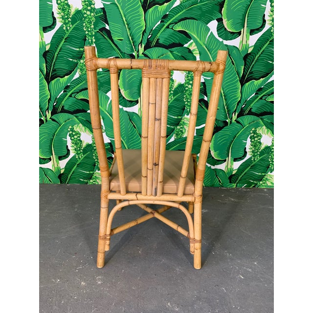 Bentwood Rattan Dining Chairs - Set of 6 For Sale - Image 4 of 8