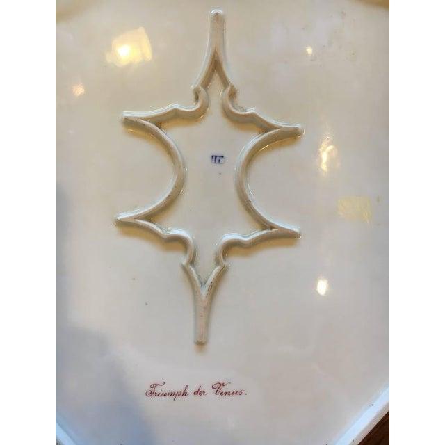 "Ceramic ""Triumph der Venus"" Royal Vienna Platter For Sale - Image 7 of 7"
