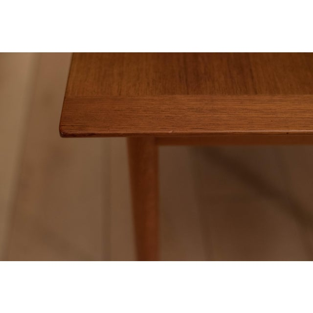 1960s Mid-Century Modern Westnofa Teak Side Table For Sale - Image 9 of 12