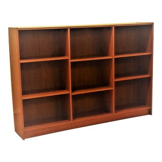 Mid Century Modern Danish Teak Bookshelf For Sale