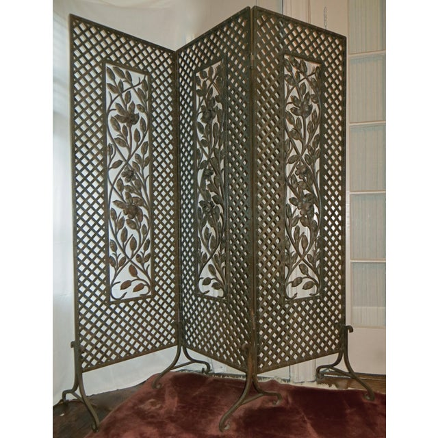 Antique French Deco Screen - Image 4 of 4