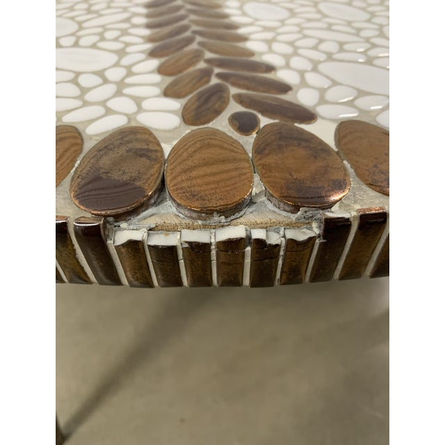 Vintage Mid-Century Modern Tile Coffee Table For Sale - Image 9 of 10