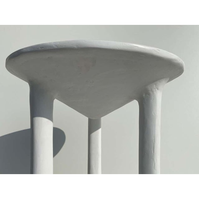 African Side Tables with Feet - a Pair For Sale In Los Angeles - Image 6 of 12