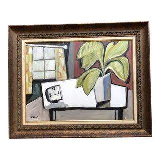 Original Contemporary Stewart Ross Still Life Painting For Sale
