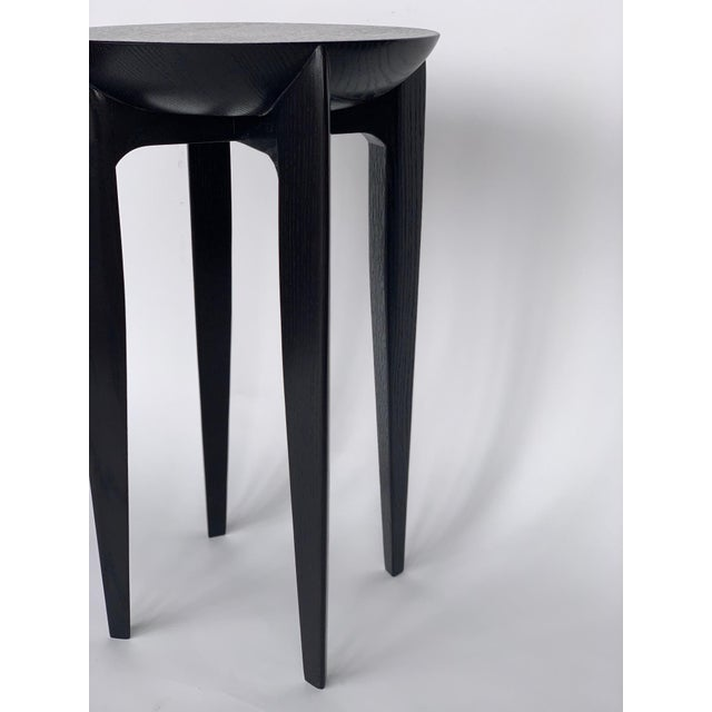Modern Christian Liaigre Style Side Tables - a Pair For Sale - Image 3 of 6