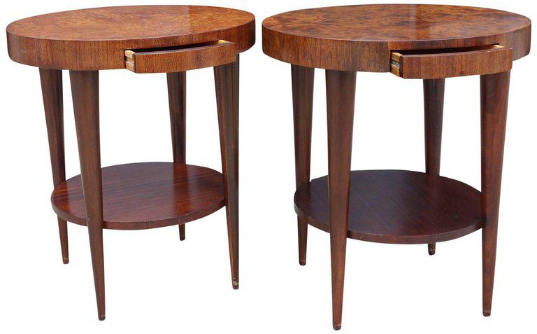 Occasional tables by gilbert rohde for herman miller pair image 5 of 11
