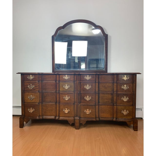 Excellent craftsmanship in this authentic reproduction from the Henry Ford Museum by Century Furniture Co. This is a...