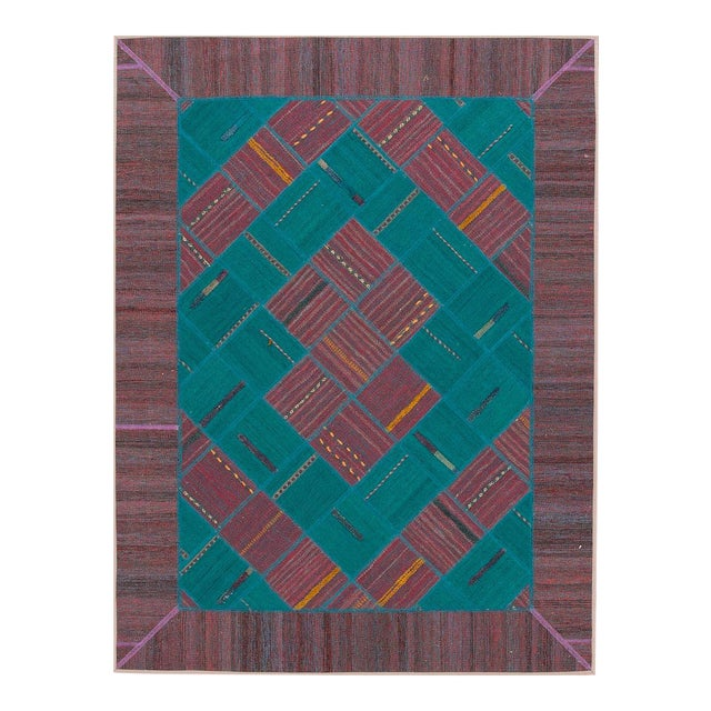 "Apadana - Persian Flat-Weave, 4'11"" X 6'6"" - Image 1 of 4"