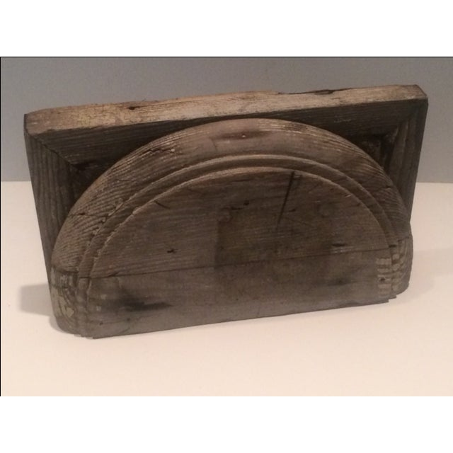 Rustic Salvage Wood Fragment - Image 2 of 8