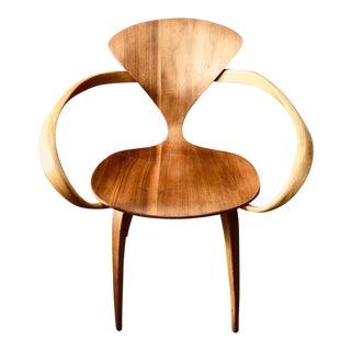 "1950s Mid-Century Modern Norman Cherner for Plycraft ""Pretzel"" Chair For Sale"