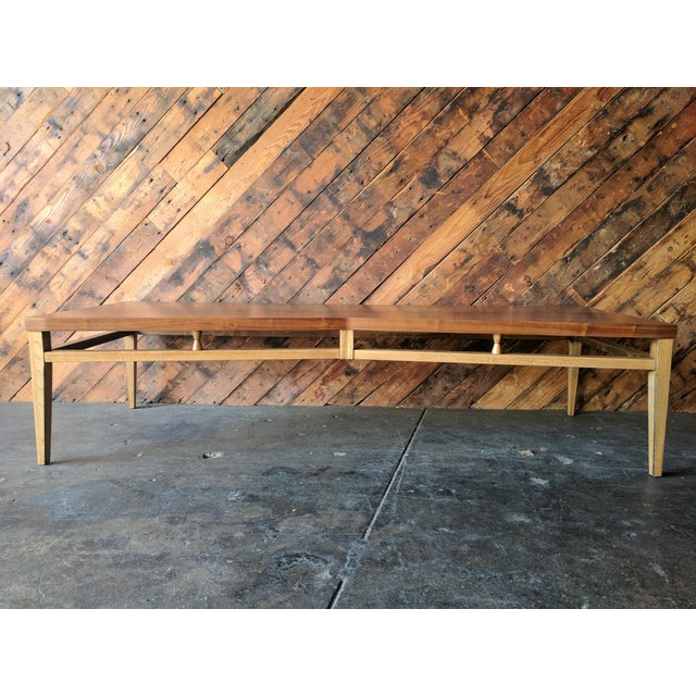 Cool Bow Tie Shaped Coffee Table Mid Century Tuxedo by Lane For Sale - Image 5 of 9