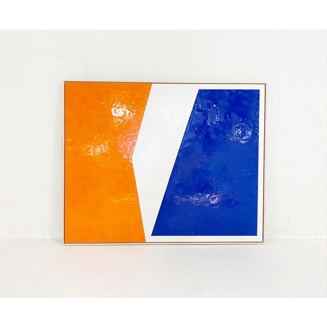 Encaustic John O'Hara, Sidewalk, Encaustic Painting For Sale - Image 7 of 7
