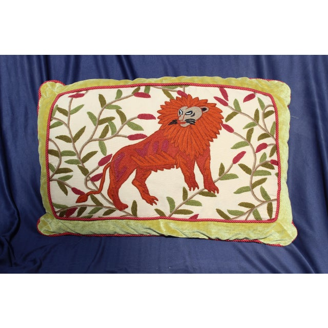 1950s Mid 20th C. Possibly American Solid Down Filled Hook Rug For Sale - Image 5 of 5