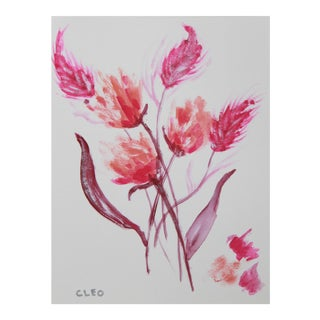 Abstract Floral Bouquet by Cleo