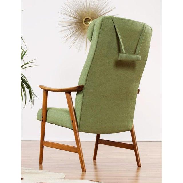 Mid-Century Modern Dokka Mobler Restored Arm Chair - Image 8 of 10