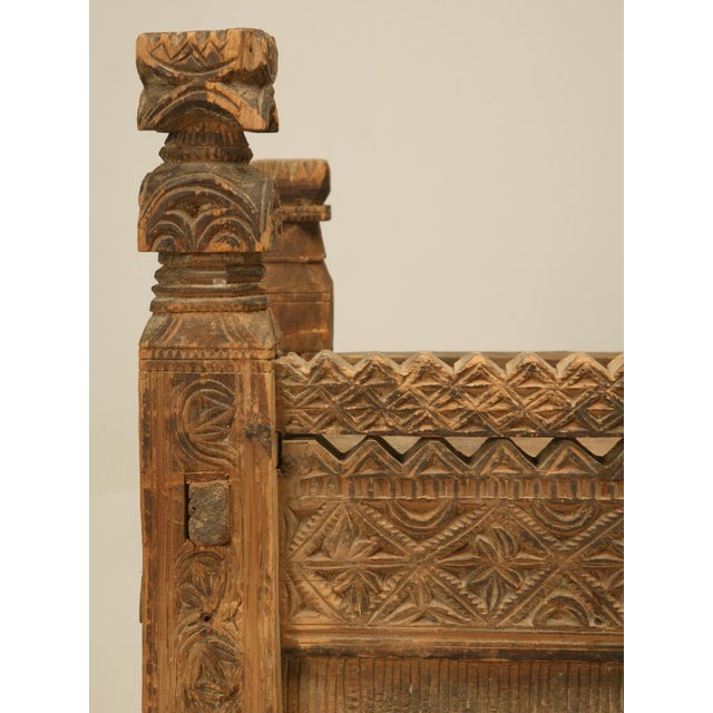 Brown Swat Chest from the Swat Valley of Pakistan For Sale - Image 8 of 10