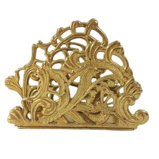 Brass Letter Holder For Sale