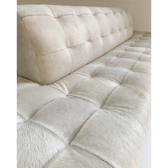 Adrian Pearsall Sofa in Brazilian Cowhide For Sale - Image 12 of 13