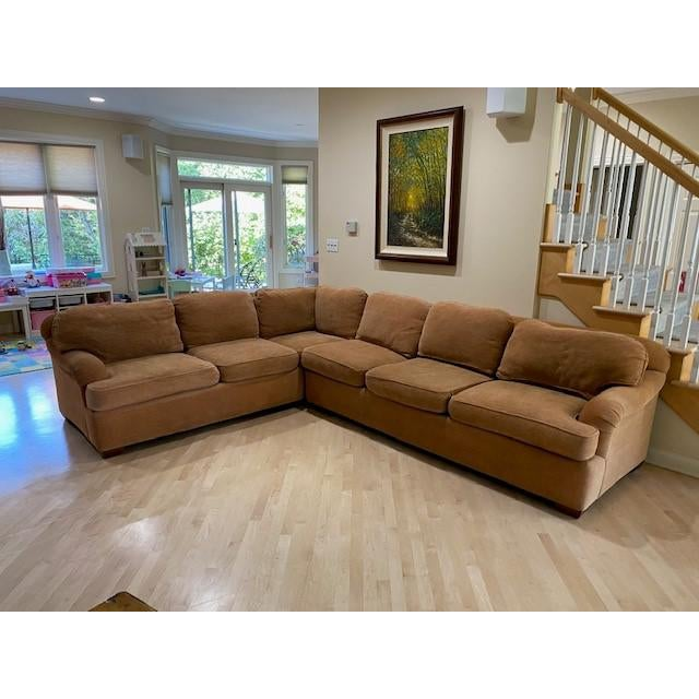 Kravet Sectional Sofa from the Crescendo Collection #25 For Sale - Image 9 of 9