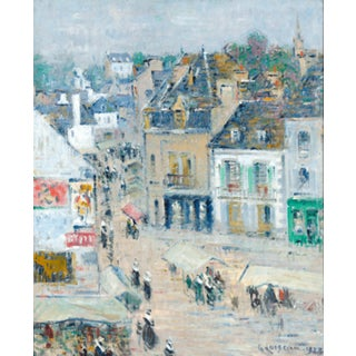 Pont-Aven, Temps Gris, Brittany by Gustave Loiseau For Sale