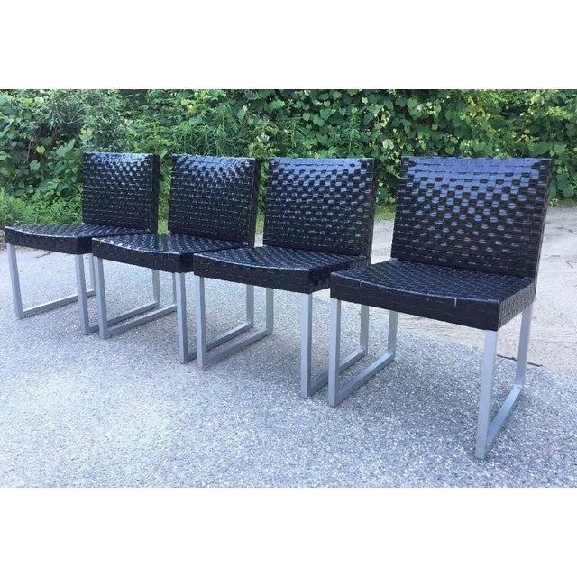 2000 - 2009 Tidelli Outdoor Patio Chairs - Set of 4 For Sale - Image 5 of 5