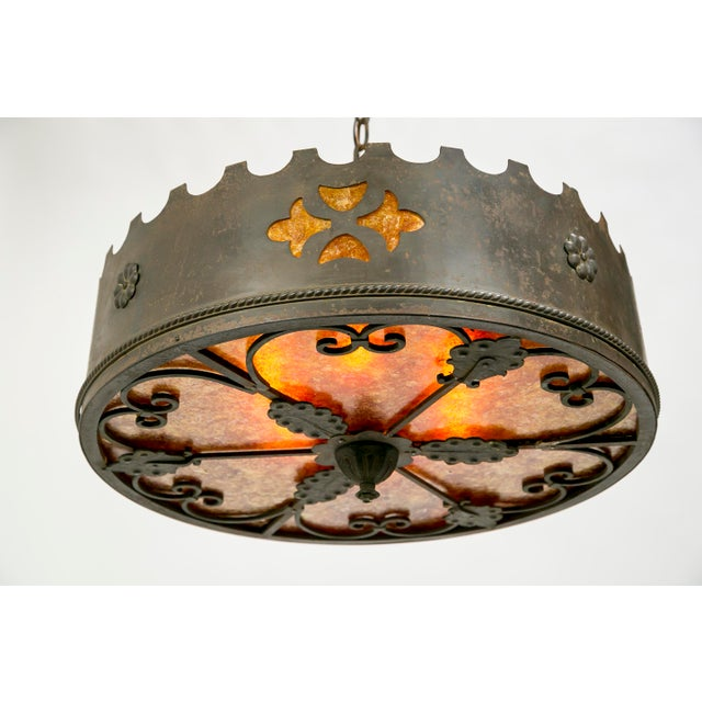 Mica Medieval Revival Chandelier - Image 7 of 11