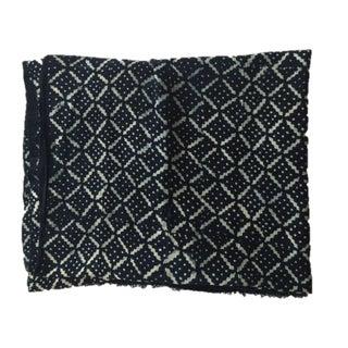Handmade Vintage African Indigo Mudcloth For Sale