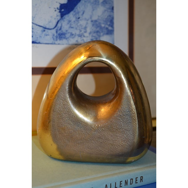Mid-Century Ben Seibel for Jenfred-Ware Paperweight / Bookend - Image 5 of 6