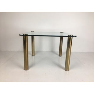 Regency Pace Collection Brass and Glass Dining or Games Table Preview
