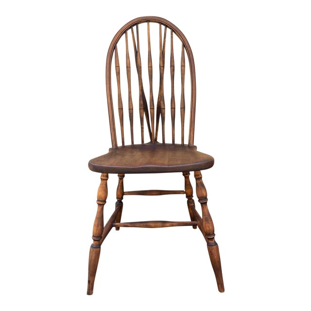 Antique Windsor Side Chair For Sale