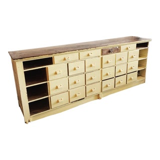 General Store Seed Cabinet For Sale