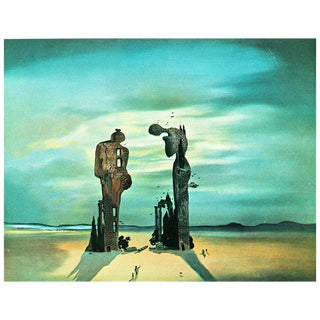 "1957 Salvador Dalí, 'Les Atavismes De ""L' Angelus"" De Millet' Period Lithograph From Paris For Sale"