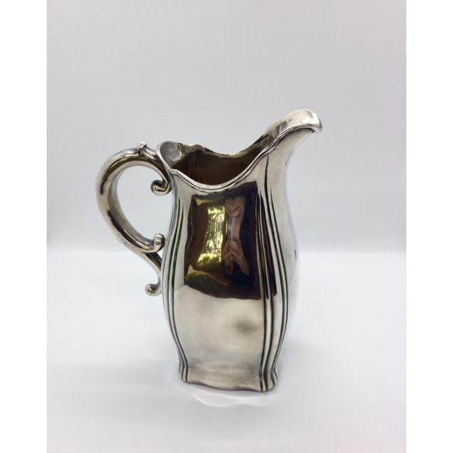 Late 19th Century Antique Sterling Silver Pitcher For Sale - Image 9 of 9