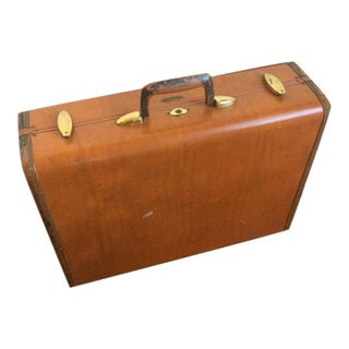 Vintage Samsonite Schwayder Bros Inc Denver Train Suitcase