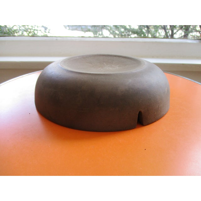 Heath Pottery Orange Ashtray - Image 11 of 11