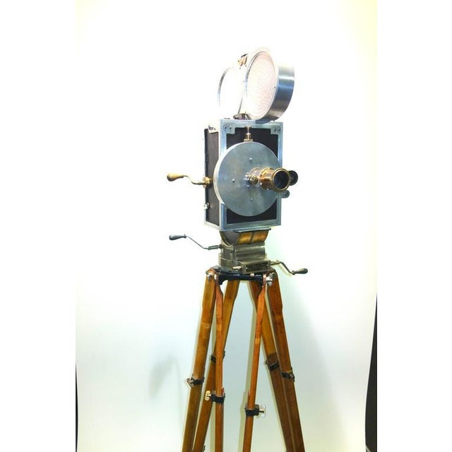 Art Deco Wilart, 35mm Cinema Camera, One Off Factory Prototype, Circa 1919. Display As Sculpture. For Sale - Image 3 of 10