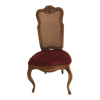 Drexel Cabernet II Dining Room Cane-Backed High Back Chair
