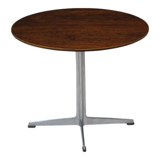Arne Jacobsen for Fritz Hansen Rosewood Side Table For Sale