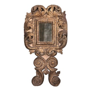 18th Century Small Italian Mirror For Sale