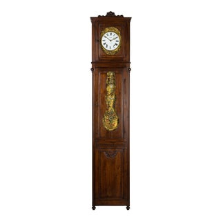 French Country Tall Case Clock For Sale