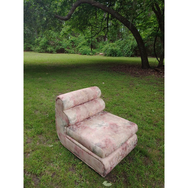 1980s Carsons Postmodern Sculptural Chair For Sale - Image 10 of 10