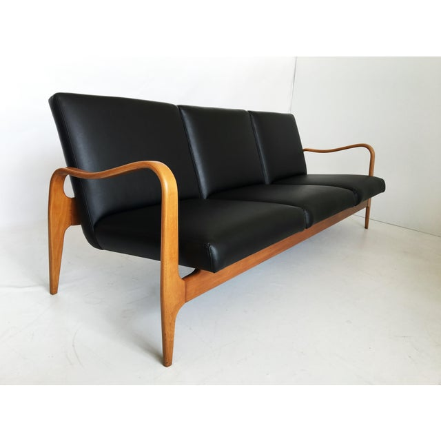 Pair of Modernist Thonet Bentwood Sofas For Sale In Dallas - Image 6 of 13