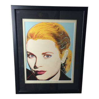 Grace Kelly 1984 Andy Warhol American Pop Art Print For Sale